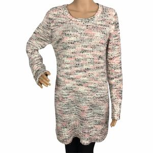 Love by design knit bodycon sweater dress large
